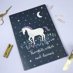 Sass & Belle 'Starlight Unicorn' A5 Notebook