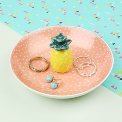 Sass & Belle Tropical Pineapple Trinket Dish