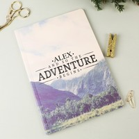 Personalised Sass & Belle 'Adventure' Wanderlust A5 Notebook