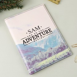 Personalised Sass & Belle 'Adventure' Wanderlust Passport Holder