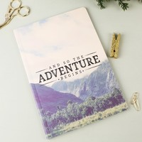 Sass & Belle 'Adventure' Wanderlust A5 Notebook