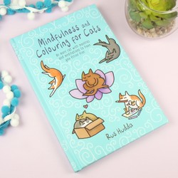Mindfulness and Colouring for Cats Book