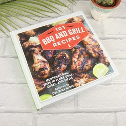 101 BBQ & Grill Recipes Cook Book