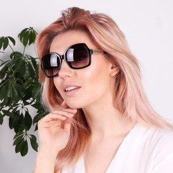 South Beach Oversized Square Sunglasses