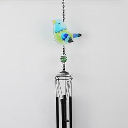 Blue Bird Wind Chime Suncatcher