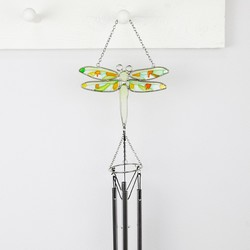 Colourful Butterfly Wind Chime Suncatcher