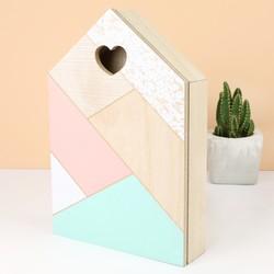 Geometric Wooden Keybox