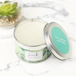 Lemongrass Candle Tin