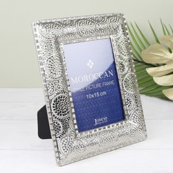 Moroccan Metal Photo Frame
