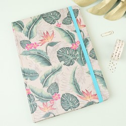 A5 Tropical Print Notebook