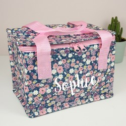 Personalised Ditsy Floral Lunch Bag