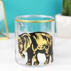 Temerity Jones Carnival Animal Glass Tumbler