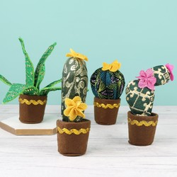 Temerity Jones Fabric Cactus Decoration