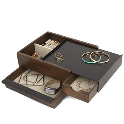 Umbra Stowit Mini Wooden Storage Box