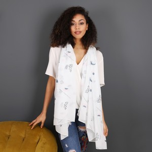 Abstract Shapes Patterned Scarf