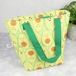 Sass & Belle Happy Avocado Lunch Tote Bag