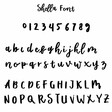 Lisa Angel Shella Rough Font