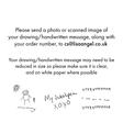 Lisa Angel Handwriting Instructions