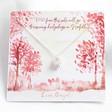 Ladies' Silver Hedgehog Necklace in Packaging
