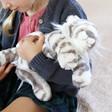 Lisa Angel Kids Jellycat Sacha Snow Tiger Soft Toy