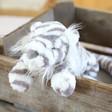 Kids Jellycat Sacha Snow Tiger Soft Toy