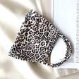 Lisa Angel Leopard Print Fabric Face Mask