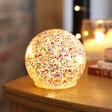 Lisa Angel Small LED Rainbow Glitter Light Globe
