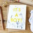 Lisa Angel New Baby 'It's a Boy' Greeting Card