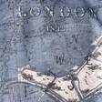 Lisa Angel Summer Vintage London Map Scarf in Navy