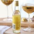 Small Bottle of Chardonnay White Wine