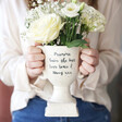 Lisa Angel Personalised Ceramic Speckled Trophy Vase, H18cm