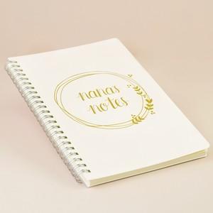 Nana's Notes Notebook