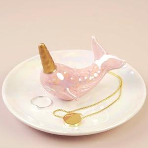 Narwhal Trinket Dish